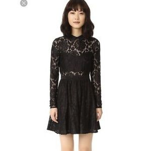 LIKELY Black Fillmore Peter Pan Collar Cocktail 👗
